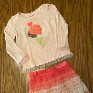 GAP Ice Cream Skirt Outfit